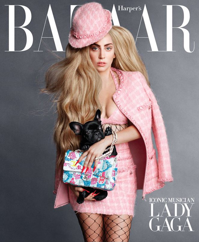 Lady Gaga for Harper's Bazaar US September 2014