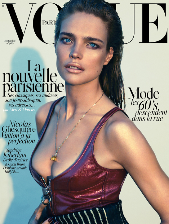 Natalia Vodianova fronts Vogue Paris September 2014