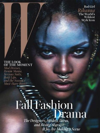 Rihanna W September 2014