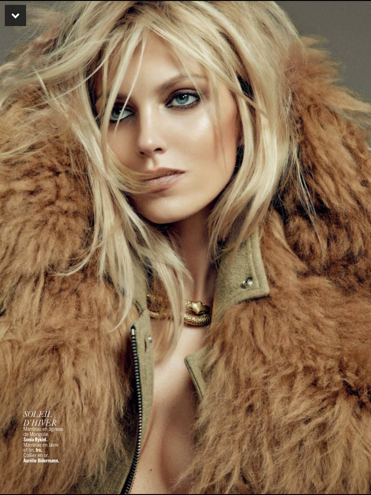 Revue De Saison : Anja Rubik for L?Express Styles September 2014 ...