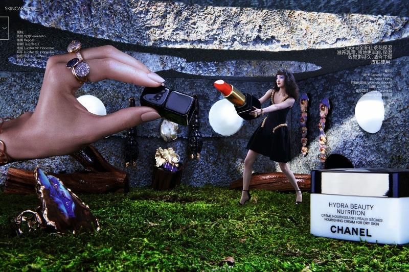 Chiharu Okunugi for Vogue China October 2014