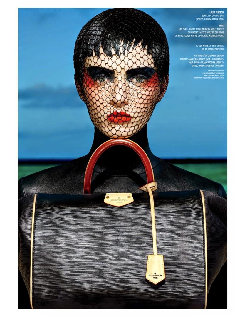Daria Strokous for V Fall 2014 by Francois Nars