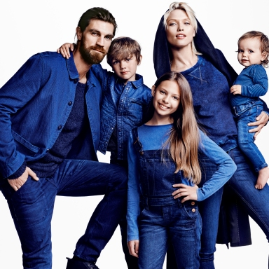H&M Conscious Denim ad campaign