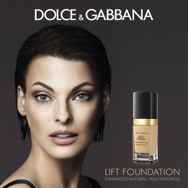 INDA EVANGELISTA FOR DOLCE & GABBANA LIFT FOUNDATION