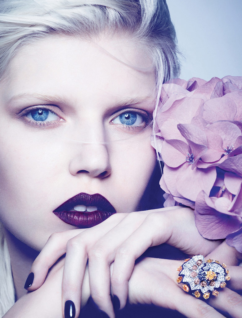 Ola Rudnicka for Dior Magazine Fall 2014