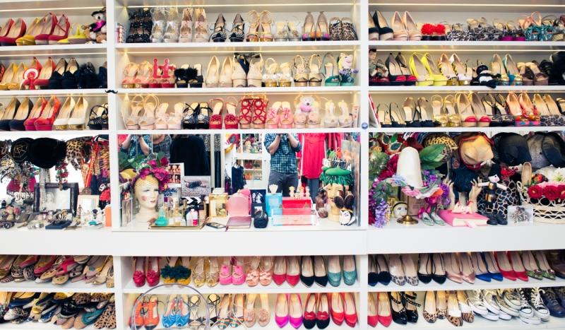 Charlotte Olympia's Closet