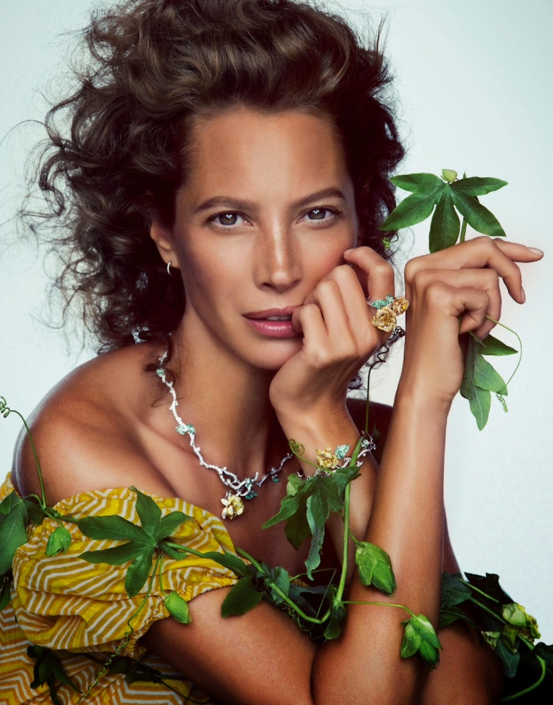 Christy Turlington for Porter Winter 2014