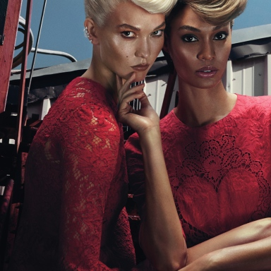 Karlie Kloss & Joan Smalls for W November 2014