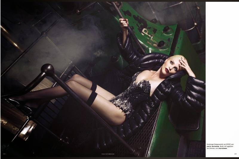 Nadja Auermann for Vogue Germany November 2014 by Luigi+Iango