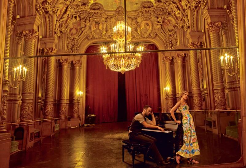 Natalia Vodianova for Vogue US November 2014 by Annie Leibovitz