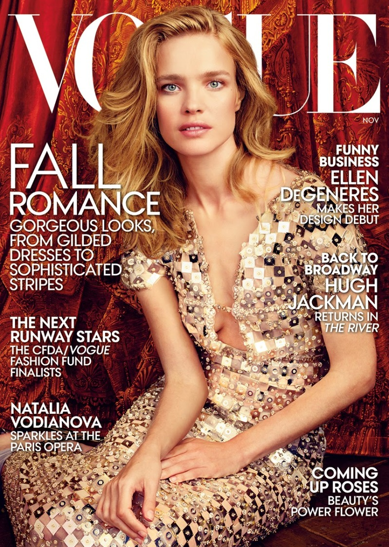 Natalia Vodianova for Vogue US November 2014 by Annie Leibovitz