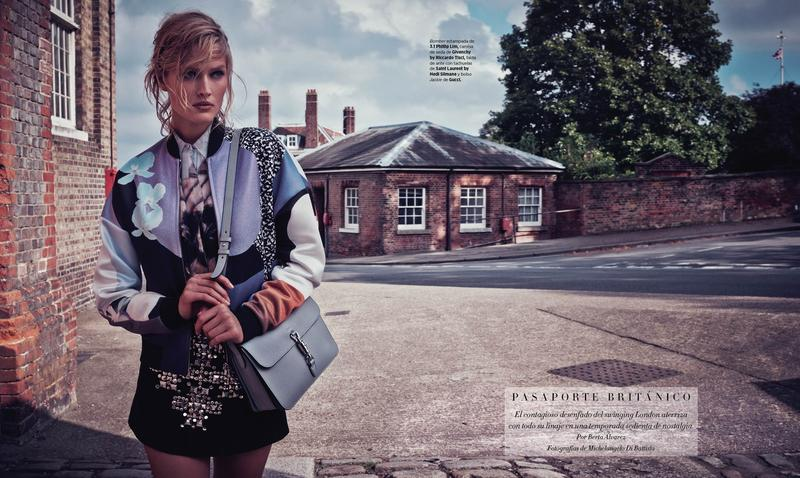 Toni Garrn for Harper's Bazaar Spain November 2014