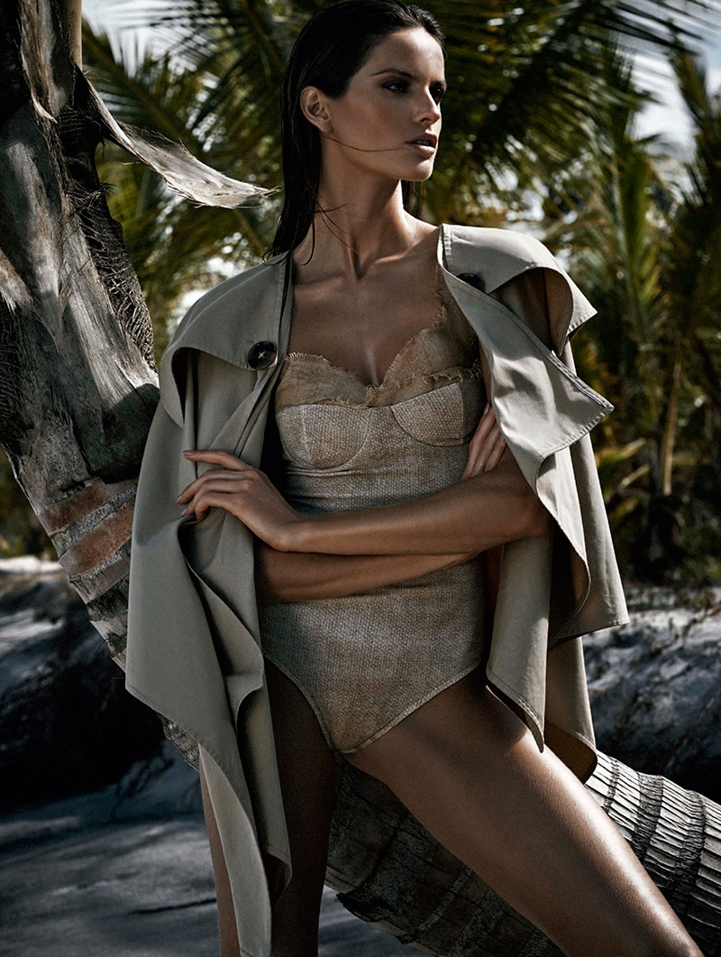 Izabel Goulart for Harper's Bazaar Brasil November 2014