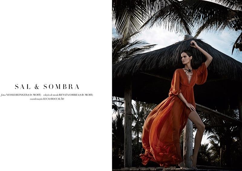 Izabel Goulart for Harper's Bazaar Brasil November 2014