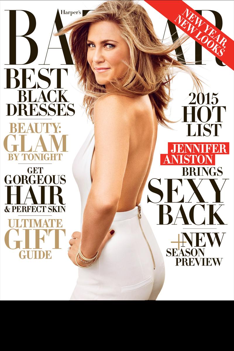 Jennifer Aniston for Harper's Bazaar US December 2014/January 2015
