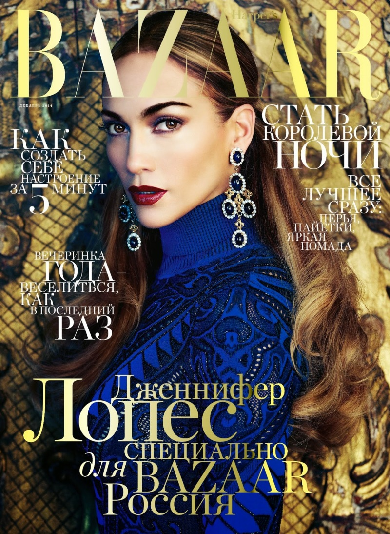 Jennifer Lopez for Harper's Bazaar Russia December 2014
