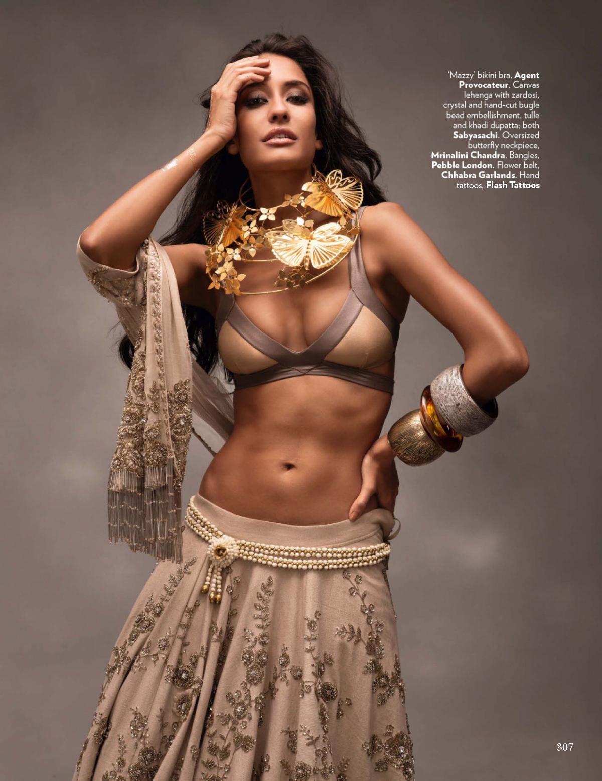 the Citizens of Fashion - Vogue India November 2014 : Bronze Age